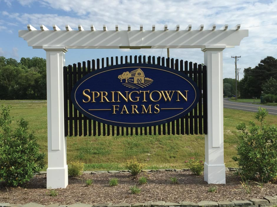 151_springtown Dimensional Signs