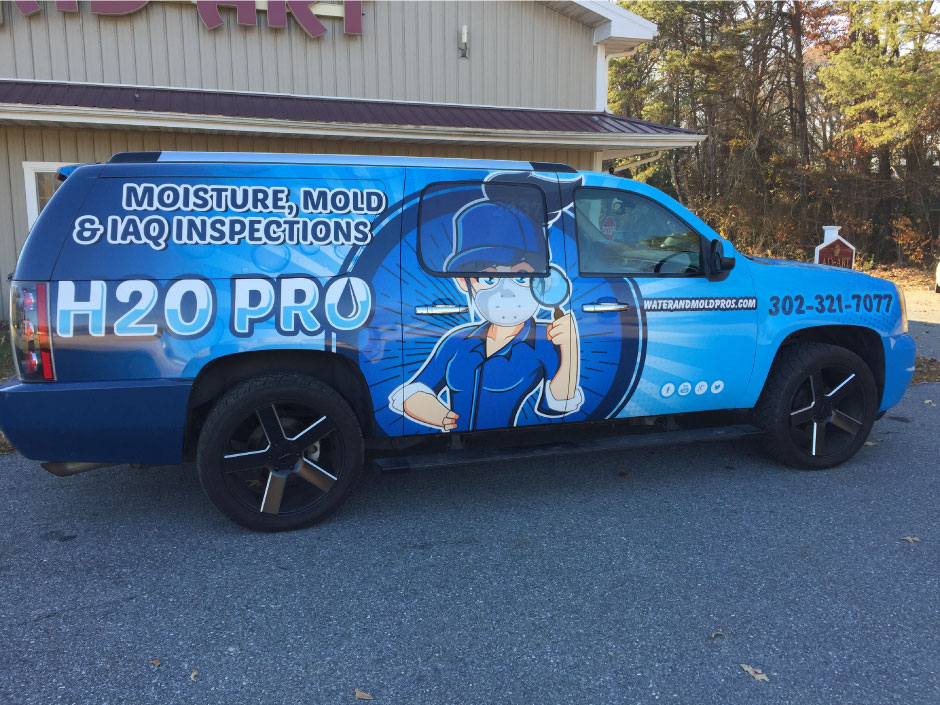 186_h201 Vehicle Lettering / Vehicle Wraps